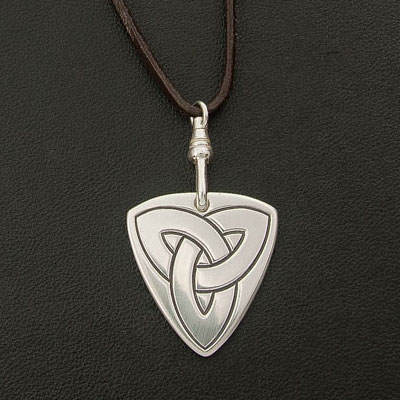 Custom Sterling Silver Guitar Plectrum