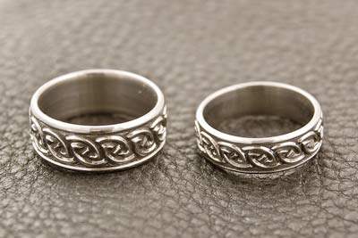 titanium wedding rings - Scottish Wedding Rings