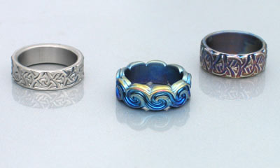 Custom Made Celtic Wedding and Engagement Rings