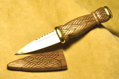 Sgian Dubh Kits Materials Blades And Fittings